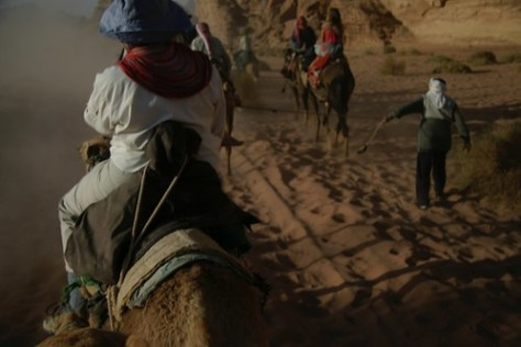 Camel ride, Wadi Rum, Jordan