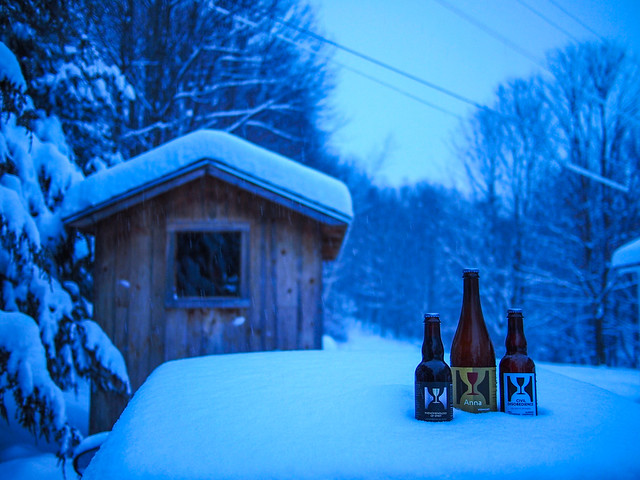 Hill Farmstead after a Blizzard