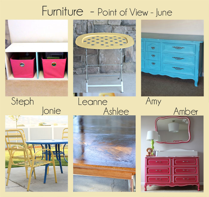 Furniture - Point of View Link Party - June