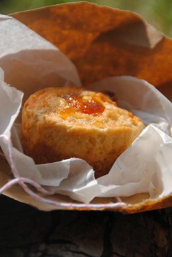 Narnia food marmalade scone