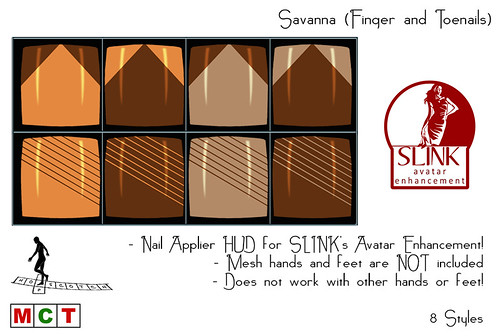 Savanna SLink Nail Appliers (Finger- and Toenails
