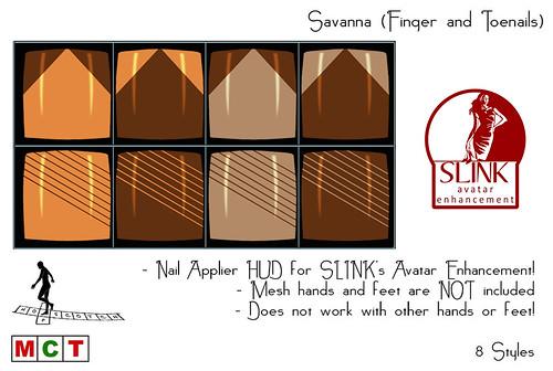 Savanna SLink Nail Appliers (Finger- and Toenails