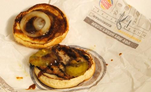 Burger King BBQ Rib Sandwich 2