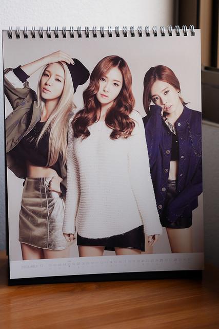 SNSD 2014 Calendar: Hyoyeon+Suny+Jessica