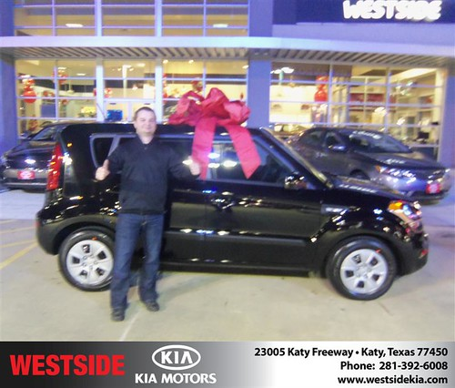 Happy Anniversary to Wendy E Pierson on your 2013 #Kia #Soul from Rizkallah Elhallal and everyone at Westside Kia! #Anniversary by Westside KIA