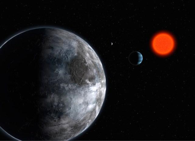 La mayoría de los planetas alienígenas habitables: Gliese 581g
