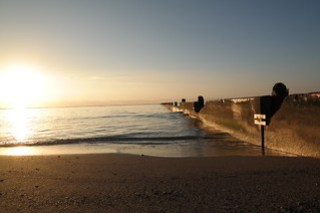 Kahala Beach Park Sunrise