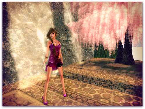 Purple Orchid Dress