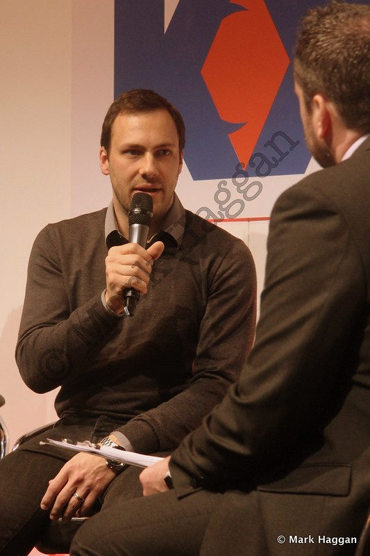 Gary Paffett at the Autosport International Show 2014
