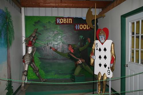 Robin Hood and a Card Guard