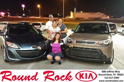 Congratulations to Rosemary Flores on your #Mazda #Mazda3 purchase from Kelly  Cameron at Round Rock Kia! #NewCar by RoundRockKia