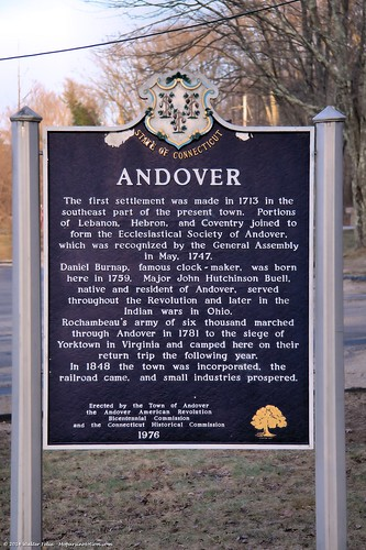Andover Historical Marker