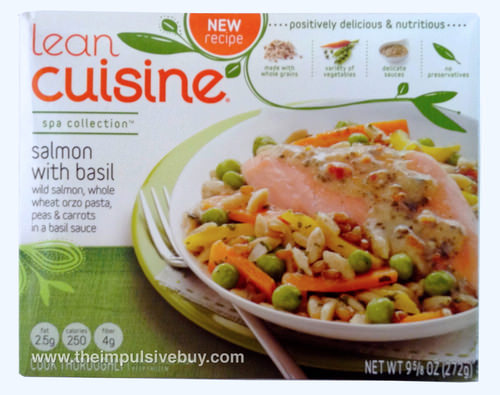 Lean Cuisine Spa Collection Salmon with Basil