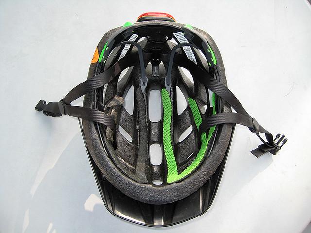 Helmet Pad Wear