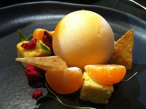 mandarin sorbet balloon