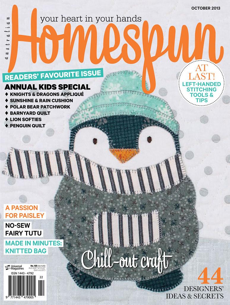 featured in Homespun magazine!