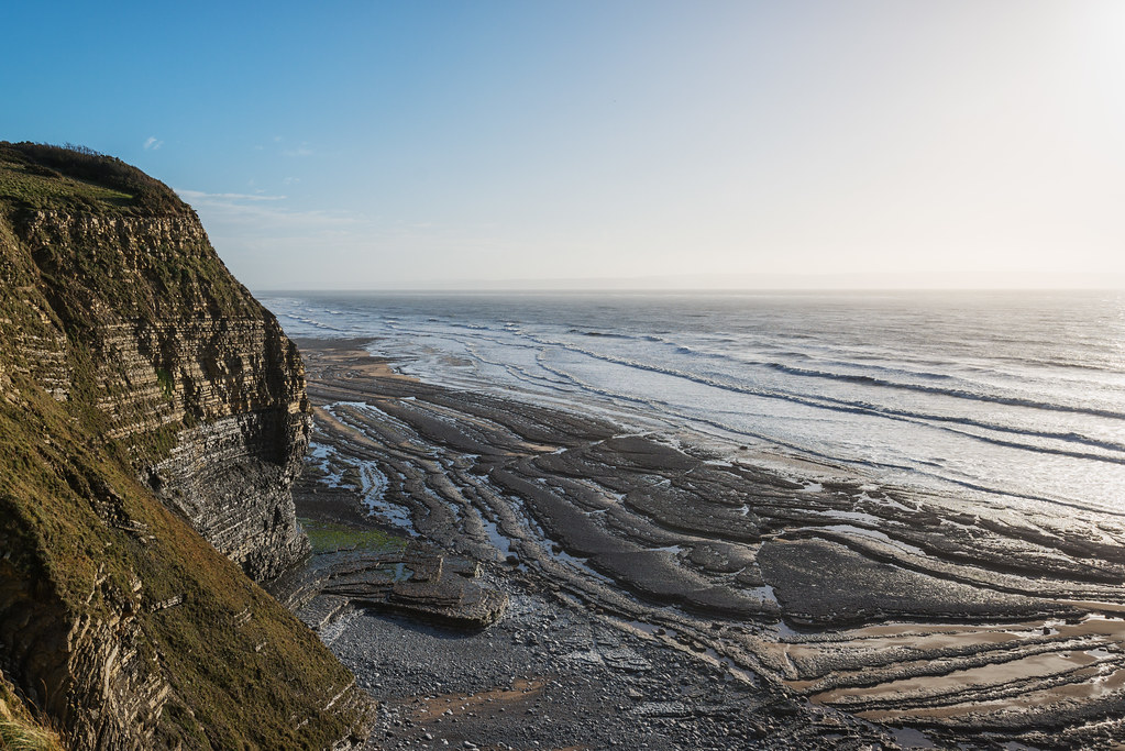 The second beach at Southerndown