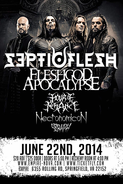 Septicflesh at Empire