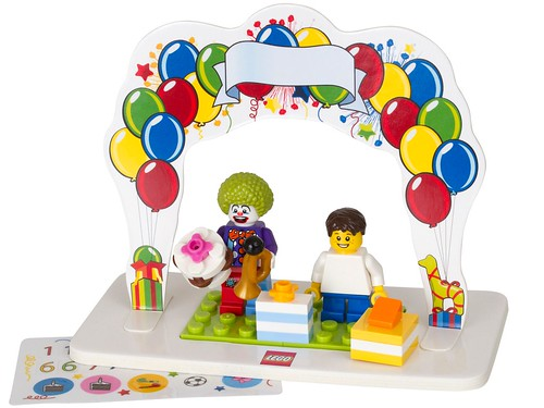 850791 LEGO Minifigure Birthday Set