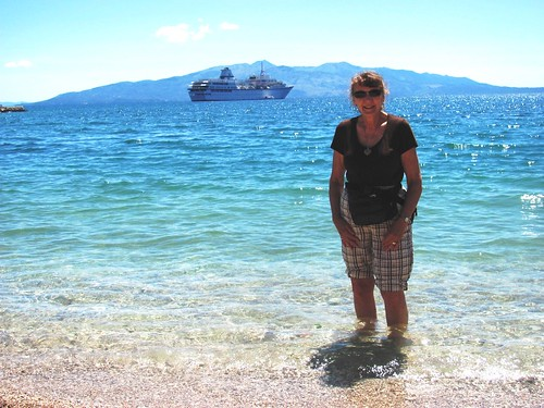 Saranda, Albania Rochelle Adds Adriatic to Toe Dipping List