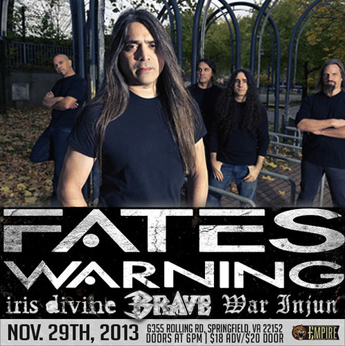 Fates Warning at Empire