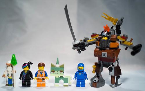 REVIEW LEGO Movie 70810 - Le Lamantin de Barbe d'Acier