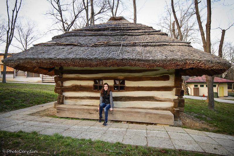 casuta lemn Muzeul Satului