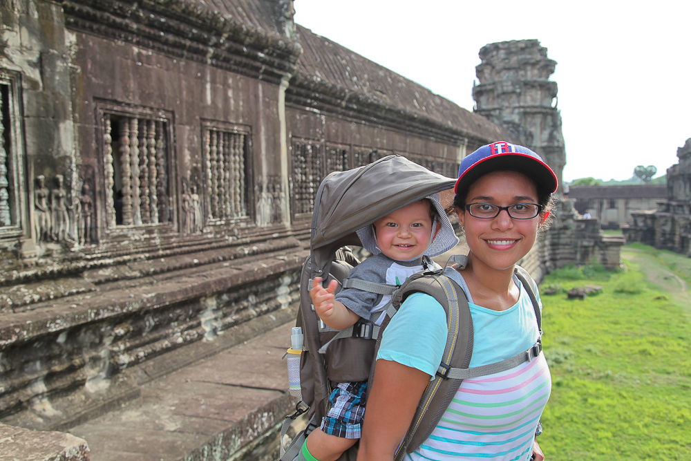 Smiles from Angkor Wat