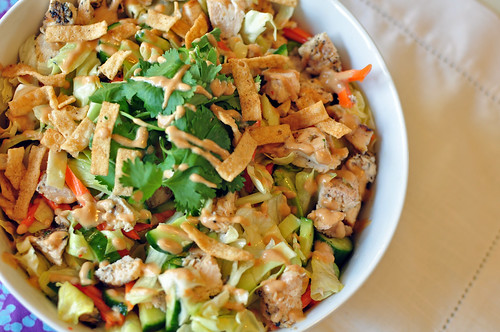Asian Chicken Salad 5