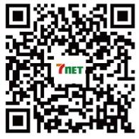 手機掃描QR Code  立即加入We7net官方帳號拿好康!
