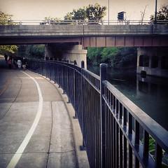 Chicago River North Branch Trail #latergram #seenonmyrun #runCHI #runCARA