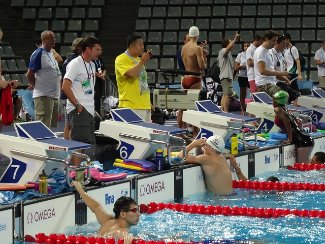First day of training at BCN2013