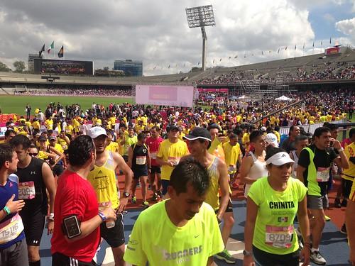 El Medio Maratón de la Ciudad de México 2014 será el 27 de Julio