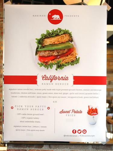 Ramen Burger poster