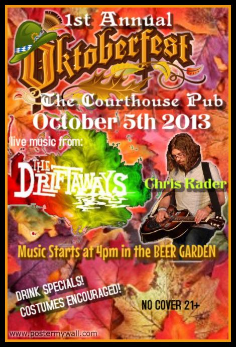 The Courthouse Pub 10-5-13