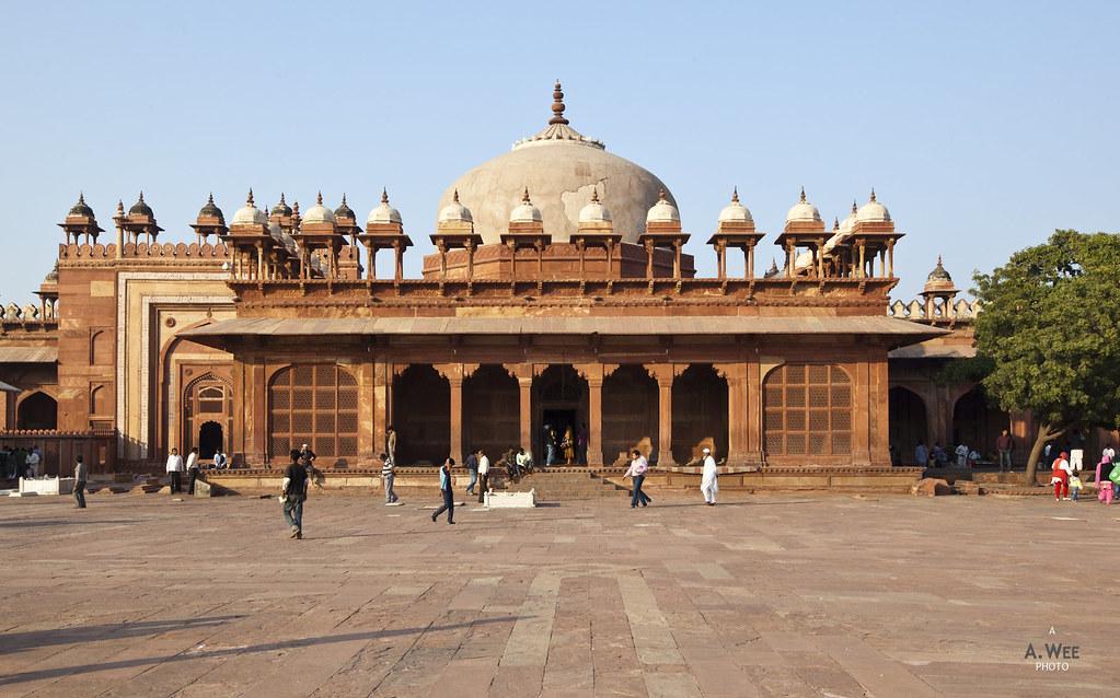 Royal Mausoleum in Fatehpur Sikri