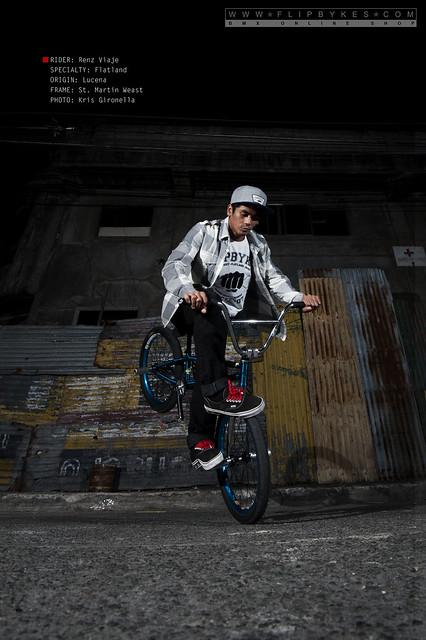 Flibykes Team Rider - Renz Viaje (BMX Flatland)