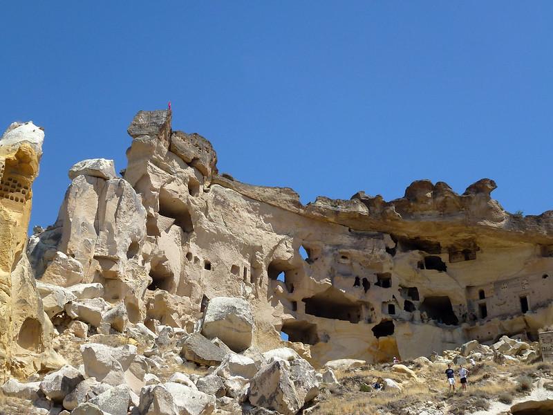 Turquie - jour 21 - Vallées de Cappadoce  - 008 - Çavuşin, la citadelle