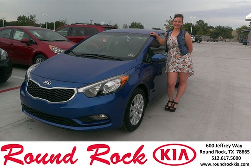Thank you to Destiny Finney on the 2014 Kia Forte from Ruth Largaespada and everyone at Round Rock Kia! by RoundRockKia