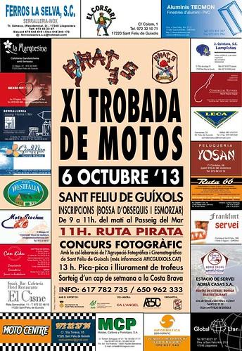 XI Trobada de Motos Sant Feliu de Guíxols