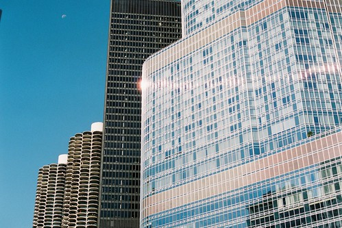 Chicago buildings by Aoife B