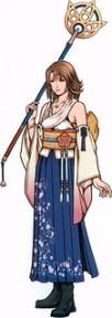 Yuna maga blanca