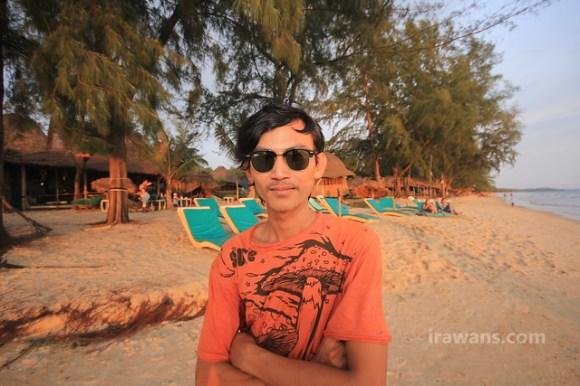 Sna, the man of the Otres Beach Sihanoukville