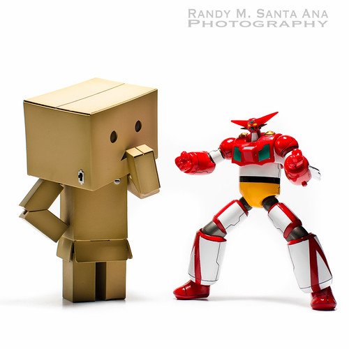 Danbo And Getter Robo Back To Normal.