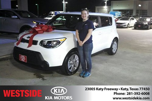 Thank you to Whitney Peters on your new 2014 #Kia #Soul from Gil Guzman and everyone at Westside Kia! #NewCarSmell by Westside KIA