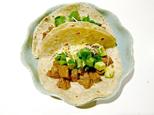Thai-Mex Steak Tacos