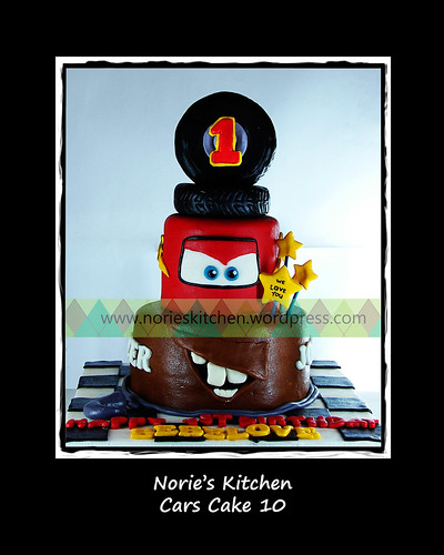 Norie's Kitchen - Cars Cake 10 by Norie's Kitchen