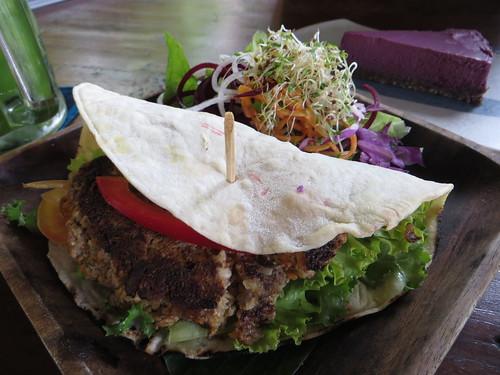 yoga barn veggie burger