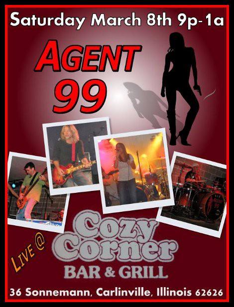 Agent 99 3-8-14