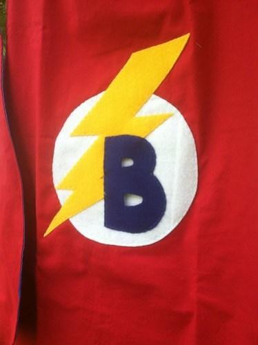 Custom cotton superhero capes